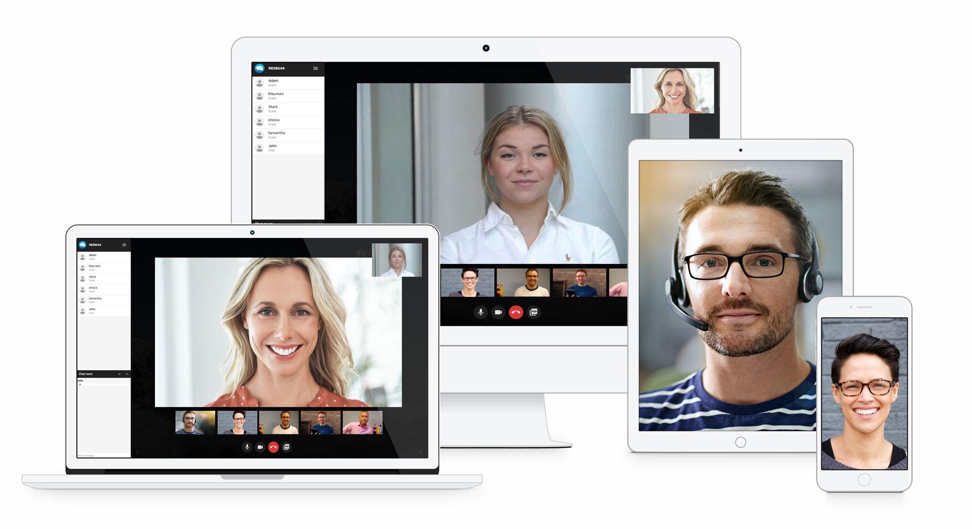 クラウドビデオ会議 CommuniCloud Video | ビデオ会議・WEB会議のコミュニクラウド