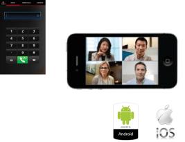 Polycom Realpresence mobileの写真
