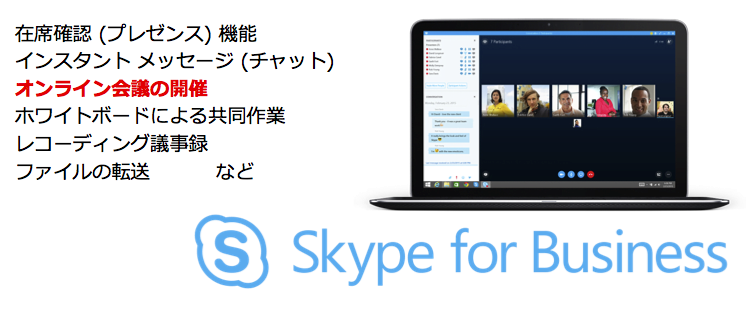 Skype for Business機能一覧
